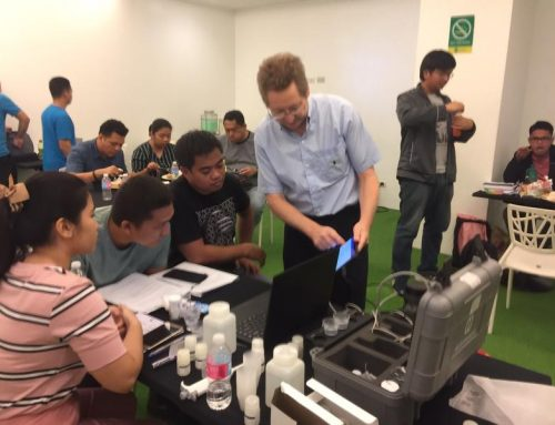 Modern Water completed MicroTrace PDV instrument validation and staff training for the Philippines Department of Environment and Natural Resources